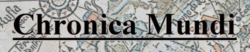 Chronica Mundi Logo